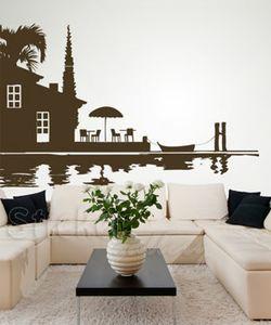Αυτοκόλλητα τοίχου - Art220 - τοπίο στην θάλασσα