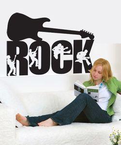 Αυτοκόλλητο Η κιθάρα του ROCK