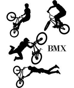 ΑΥΤΟΚΟΛΛΗΤΑ ΤΟΙΧΟΥ BMX