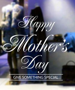 Αυτοκόλλητα Βιτρίνας Γιορτή Της Μητέρας