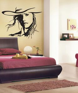 Woman  wall sticker