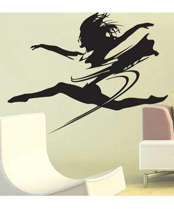 Αυτοκόλλητο τοιχου μπαλαρίνα