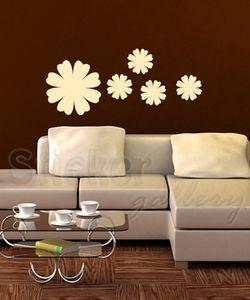 Αυτοκόλλητα Τοίχου Λουλούδια
