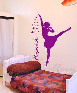 αυτοκολλητα τοιχου μπαλαρίνα