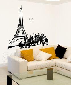 Αυτοκολλητο τοιχου - Night in Paris