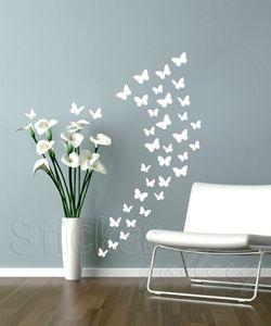 Αυτοκόλλητα Τοίχου Πεταλούδες