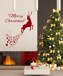 αυτοκόλλητα τοίχου χριστουγεννιατικα
