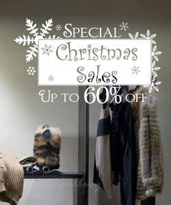 Εκπτωτικά αυτοκόλλητα Χριστουγέννων - Sales 01