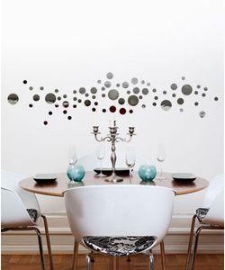 αυτοκολλητα τοιχου καθρεφτης