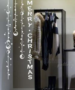 Χριστουγεννιατικα αυτοκολλητα  βιτρινας
