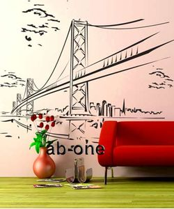 San Fransisco wall decals