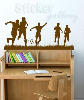 Αυτοκόλλητο τοίχου Παίζοντας ποδόσφαιρο