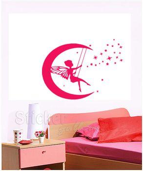 Νεραιδούλα αυτοκόλλητο τοιχου για κορίτσια