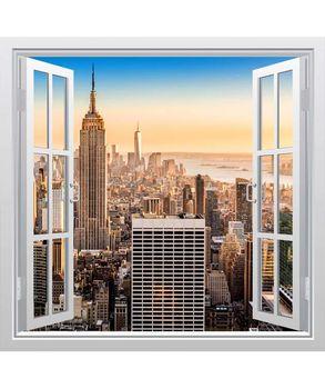 αυτοκόλλητο παράθυρο με θέα τη Νέα Υόρκη