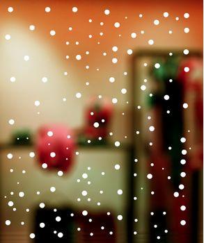 αυτοκολλητα βιτρινας χριστουγεννιάτικα