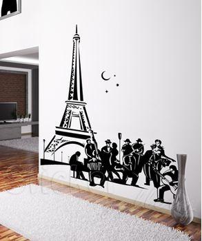 Wall sticker - Night in Paris