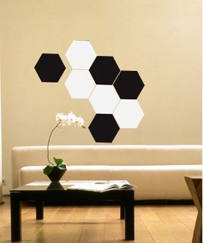 Διακοσμητικά αυτοκόλλητα τοίχου - Γεωμετρικά σχήματα Art 118