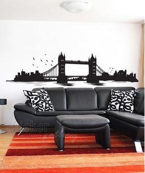 Αυτοκόλλητο τοίχου - London Tower Bridge