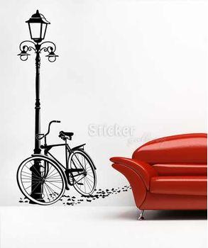 Αυτοκολλητα τοιχου ποδηλατο