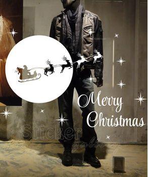 Χριστουγεννίατικα αυτοκόλλητα - Αγίος Βασίλης 01